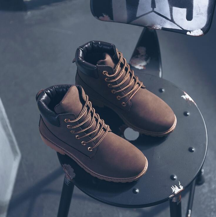 XDA 2019 Women's Winter Fur Brand Martin Boots Women Cute red Boots Quality Work Boots Flat Heel Ankle Boots Women shoes F870 6