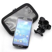 Universal Auto Waterdicht Motorfiets Fiets Mount Telefoon Houder Tas case soporte voor iphone 6 voor samsung galaxy s3 s4 S5