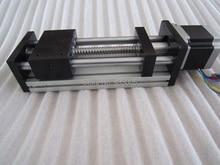 GGP CNC tornillo de la bola 1204 Mesa Deslizante carrera útil de 200mm ejes XYZ Carril de Guía de movimiento Lineal + 1 unid nema 23 del motor de pasos