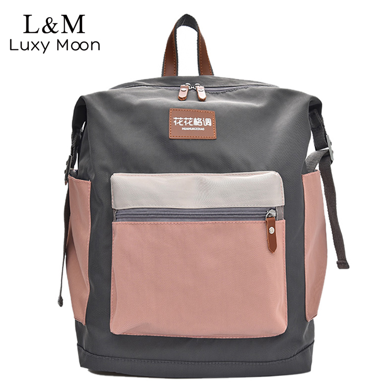 Women Travel Backpacks Canvas Backpack Male Mochila Escolar Girls Laptop Backpack School Bags Rucksack for Teenage 2018 XA486H flower princess brand canvas backpack women high school teenage girls school bags preppy style ladies travel mochila escolar
