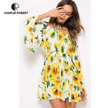 3c6806c726f23 Buy dress with sunflower and get free shipping on AliExpress.com