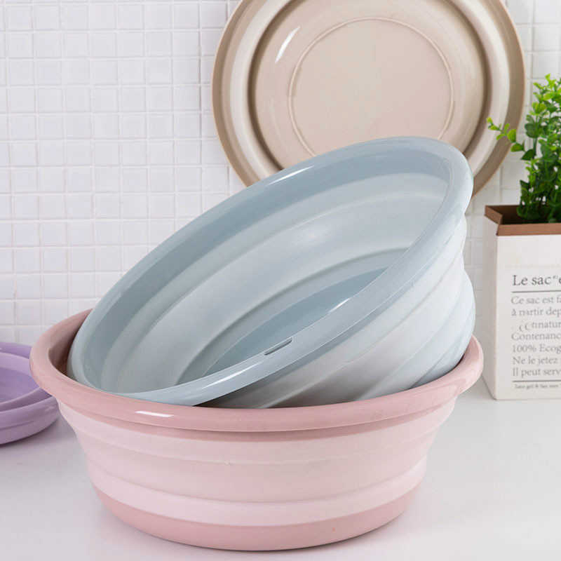 Wash Basin Folding Bucket Container