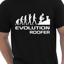 0b64973c Evolution Of Roofer Funny Mens T-Shirt Birthday Gift Size S-XXL summer o