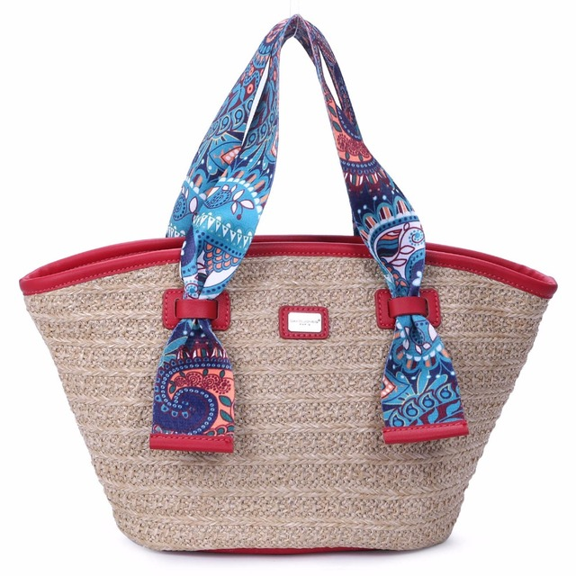DAVIDJONES Women Casual Handbags Nylon Shopping Bag Scarves Wallet Bag  Medium Femme Travel Sac a main Dames tassenBolsos ec410ef6f9e68