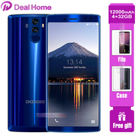 Original DOOGEE BL12000 Big battery 12000mAh 4GB 32GB 6.0 inch 18:9 FHD+16MP 4 Camera celular Octa Core Smartphone