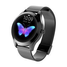 цена 696 Newest Fashion X10 Smart Watch Women 3D Diamond Glass Heart Rate Blood Pressure Sleep Monitor Best Gift Smartwatch онлайн в 2017 году