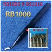 Yüksek kaliteli kırpma makinesi, demir kolu, hızlı klip çapak alma kolu, kırpma metal kolu, RB1000 kırpma bıçak, BS10108