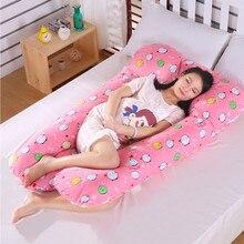 Для женщин, для беременных, с принтом, для сна, u-образная подушка, для живота, Подушка для беременных, для беременных, для сна, постельные принадлежности