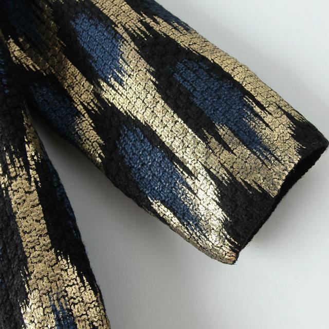 HTB17uflJFXXXXcUXFXXq6xXFXXXh - 2015 Autumn New The peacock printing Knitting Long Cardigan Ladies Sweater Women Coat Outwear Snake Pattern Bronzing Tops