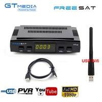 Freesat V7 HD CCcam Satellite Receiver +1 Year Europe Spain Italy CCCam Server+1 USB WIFI DVB S2 Receptor Satellite HD Receiver