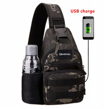 Multi-functional Fishing Bag Cycling Sports Chest Bag Kettle