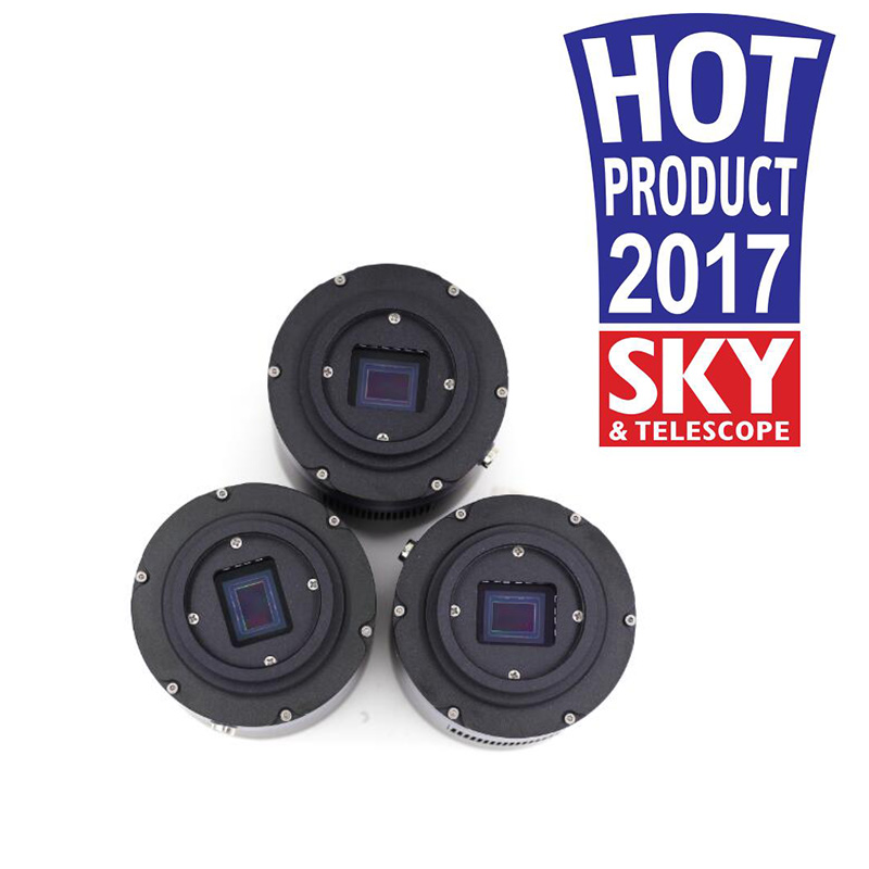Caméra d'astronomie refroidie rétroéclairée Monochrome QHY183M