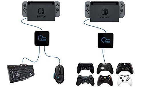 US $142 0 |Reasnow CrossHair mouse and keyboard Converter Cross Hair  Adapter for PS4/PS3/XBOXONE/XBOX 360 Switch G27 G25 GT Controller-in  Replacement