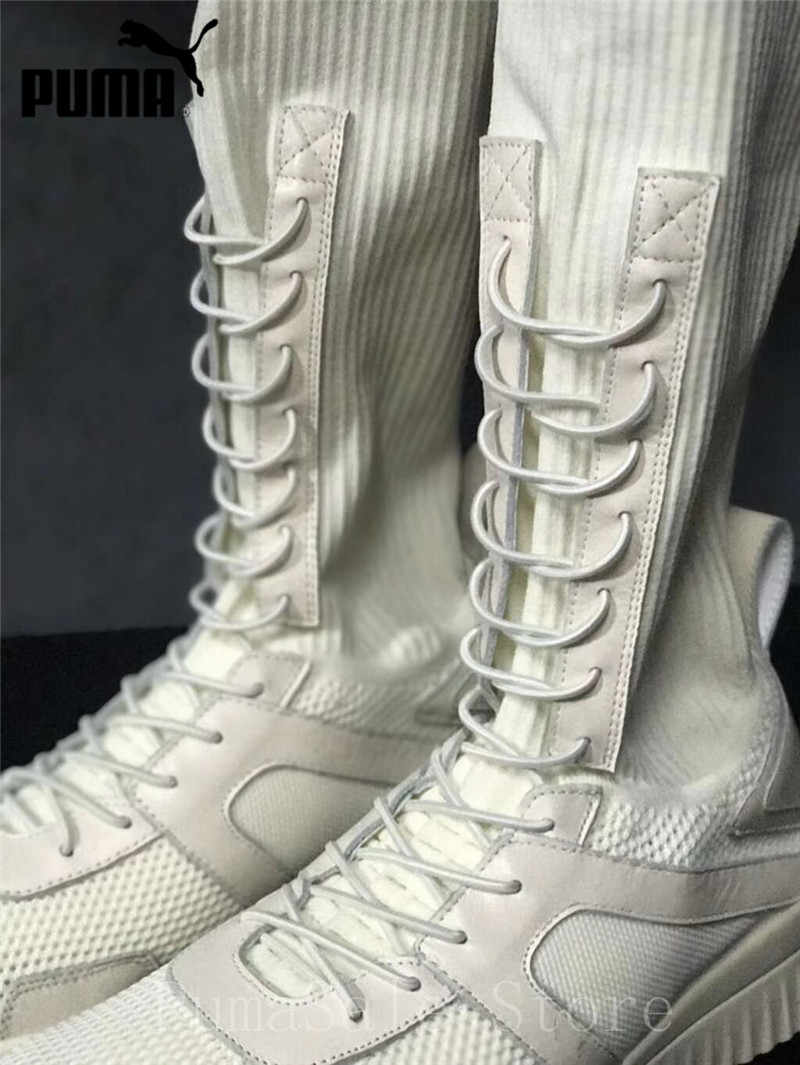 449fcefa6580 ... Puma Fenty X Rihanna Trainer Hi Women Shoes Breathable High Top Sock  Shoes Wn s Sport Shoes ...