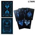 1 baralho plástico jogando cartas jogo de cartas de jogo ponte de jogo poker à prova dlágua presente l502