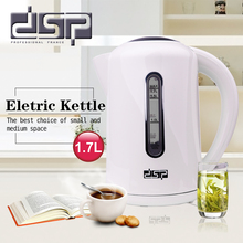 Купить с кэшбэком DSP Electric Kettle 1.7L Plastic Boil-dry And Overheart protection Teapot Insulation Household Appliances For Kitchen KK1112