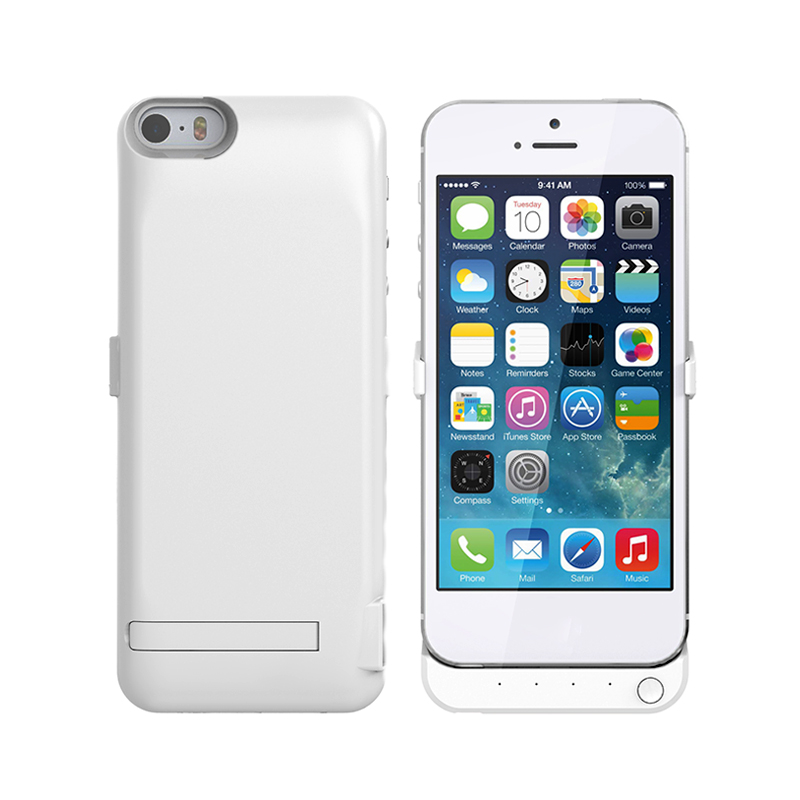 5V 1A high capacity 4200mAh fast charge Portable Charging Case For iphone5/5s/SE 3in1 external back cover charger wireless