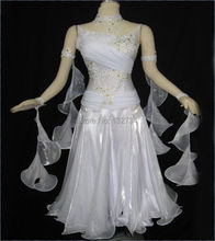 Waltz Tango dance Dress,New competitive Ballroom dance dress, crystal stones chacha,salsa dance ballroom dress B-0089