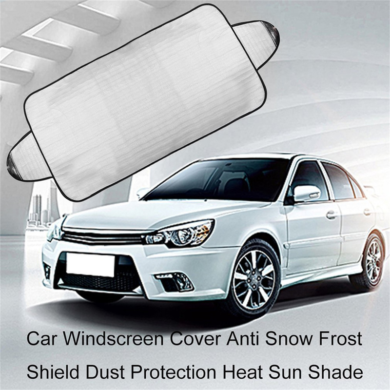 Car Snow Protector Visor Sun Shade Front Rear Windshield Cover Block Shields Drop Shipping Dust Protection Exterior Accessories