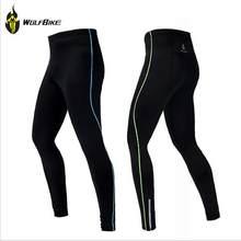 Wosawe hombres Compression tight pantalón Bases pieles capa Correr run  fitness ejercicio Ciclismo ropa Bicicletas bicicleta b848572d2776