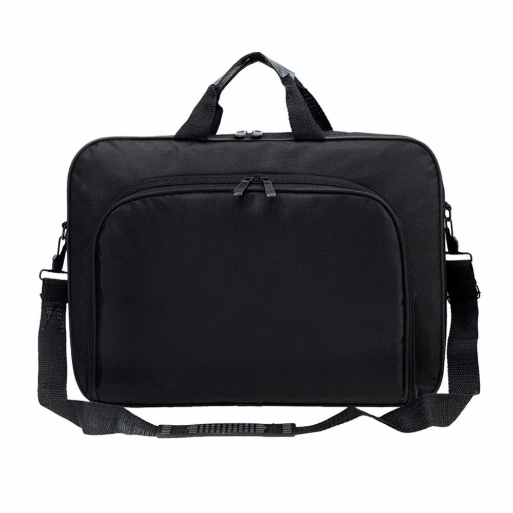 Image 4 - VODOOL Laptop Bag Computer Bag Business Portable Nylon Computer Handbags Zipper Shoulder Laptop Shoulder Handbag High Quality-in Laptop Bags & Cases from Computer & Office