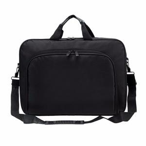 Image 4 - VODOOL Laptop Bag Computer Bag Business Portable Nylon Computer Handbags Zipper Shoulder Laptop Shoulder Handbag High Quality