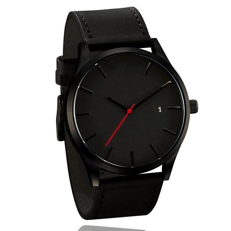 Top Luxury Brand Men Watches Men's Sports Quartz Clock Man Leather Army Military Wrist Watches Relogio Masculino erkek kol saati