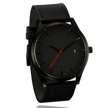 Top Luxury Brand Men Watches Men's Sports Quartz Clock Man Leather Army Military