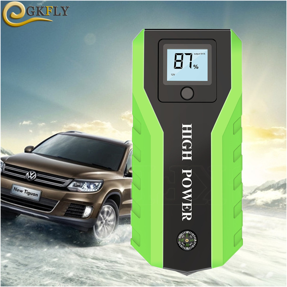 Multi-fonction 89800mAh dispositif de démarrage 12V 600A Portable démarreur de voiture Super Jumper démarreur chargeur de voiture pour voiture Booster de batterie