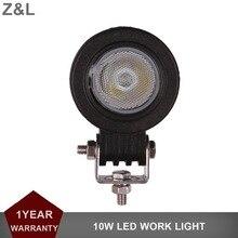 цена на CREE 10W LED Work Light Offroad 12V 24V Car Auto Truck ATV Motorcycle Trailer Bicycle Fog Lamp Spot Flood Beam Driving Headligt
