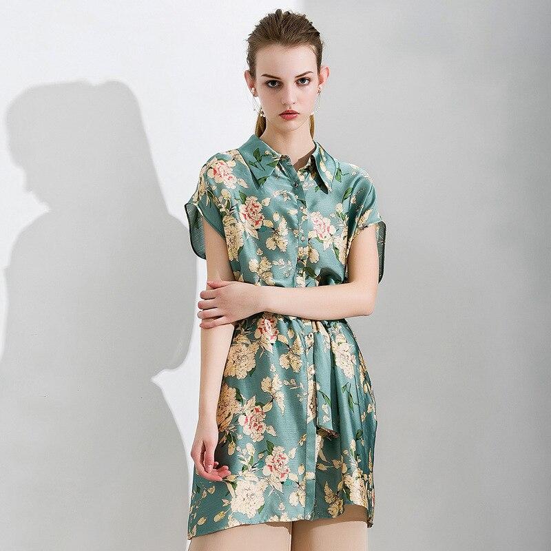 2018 Summer new arrival womens fashion long shirt ribbon sleeveless blouse nipped waists cloth waistband 2080