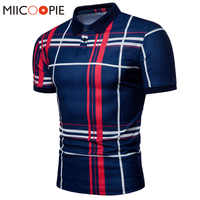 Men Plaid Polo Shirt 2018 Summer Luxury Breathable Classic Casual Tops Short Sleeves Tee Shirt Brands Jerseys Camisa Masculina
