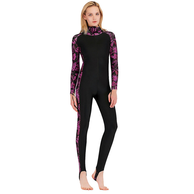 Anti-uv Diving Suit One-Piece Swimming Wetsuit Warm Snorkeling Clothing f Women Body Suits Women Swimwear One Piece Long Sleeve2