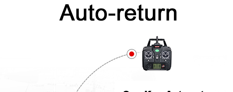 X5C-1 RC Drone with Headless Auto-return Professional Remote Control X5C Quadcopter 2.4G Drones can add 720P HD Camera  4