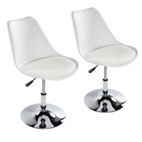 EGGREE Set Of 2 Bar Stools Bar Stools Counter Stools With Back Chair Dining Chairs Kitchen