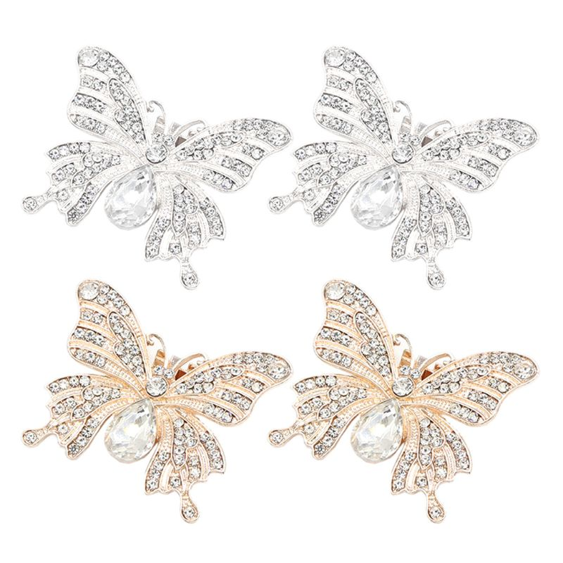 Shoe Clip Butterfly Glitter Rhinestone Luxury Fashion DIY Shoes Wedding High Heel Bridal Shoes Decoration Exquisite Charms NewShoe Clip Butterfly Glitter Rhinestone Luxury Fashion DIY Shoes Wedding High Heel Bridal Shoes Decoration Exquisite Charms New