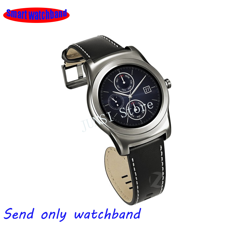 Quality Genuine Leather Watchband Soft Strap 22mm LG G Watch R W100 W110 Urbane W150 Leather Watch Band Bracelet часы lg watch urbane w150 silver