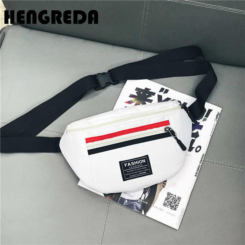 81a878a0fbe Fashion Women Belt Bag 2018 Fanny Pack Travel Bum Bag Femal Zipper Chest  Bag Ladies Waist Bag Hengreda Handbags Girls Boys