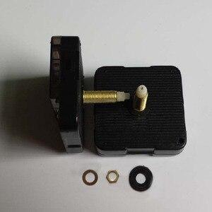 Sprzedaż hurtowa 20 sztuk mechanizm z rąk długiej osi mechanizm kwarcowy zegar ruch wyciszenie płyty dedykowane długi gwint długość osi 28mm