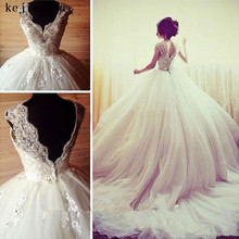 kejiadian Ball gown Bridal gown Wedding Dresses Backless