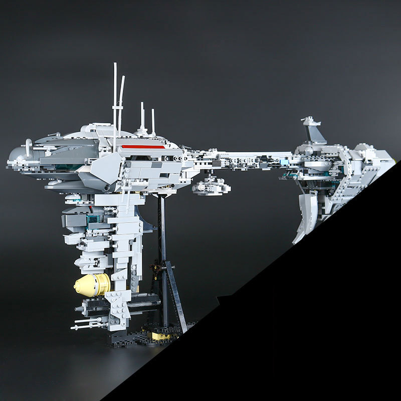 Lepin 05083 Star Series War Education Blocks Bricks 1736pcs The UCS Rupblic Star Set Destroyer Cruiser ST04 Set Christmas