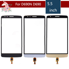10pcs/lot High Quality 5.5 For LG G3 Stylus D690N D690 Touch Screen Digitizer Sensor Outer Glass Lens Panel Replacement аккумулятор для телефона ibatt bl 53yh для lg d855 g3 d690 d690 g3 stylus d851 g3 d850 g3 d856 lg g3 dual lte vs985 g3 ls990 g3 d690n f400 g3 aka