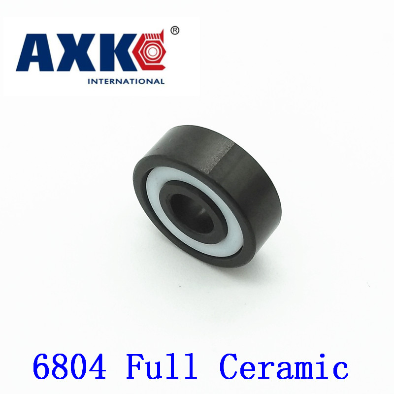 2017 Sale Rolamentos Axk 6804 Full Ceramic Bearing ( 1 Pc ) 20*32*7 Mm Si3n4 Material 6804ce All Silicon Nitride Ball Bearings цена