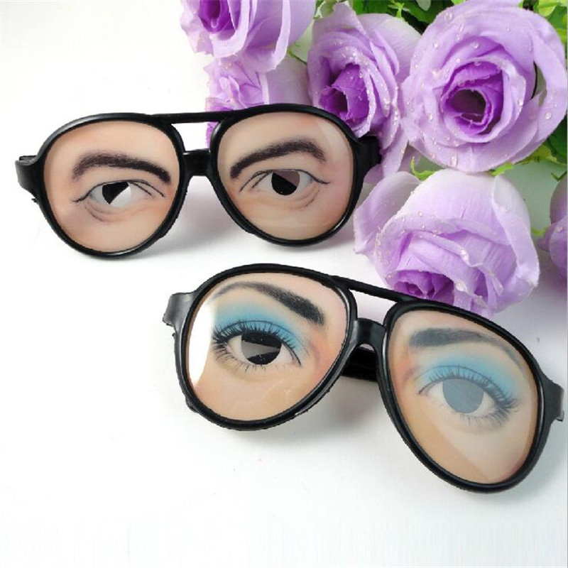 1pcs new wacky glasses wholesale creative industries novelty toys decorative for halloween decoration random delivery - Halloween Novelties Wholesale