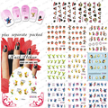 2015NEW 20PCS/LOT   BLE1797-1807 Cartoon Nail Art Water Slide Tattoo Sticker:Monkey / Babie / Lilo & Stitch