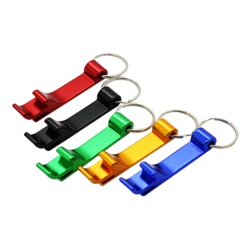 1pc colorful bottle opener keychain aluminum beer beverage bottle opener tool in openers from. Black Bedroom Furniture Sets. Home Design Ideas