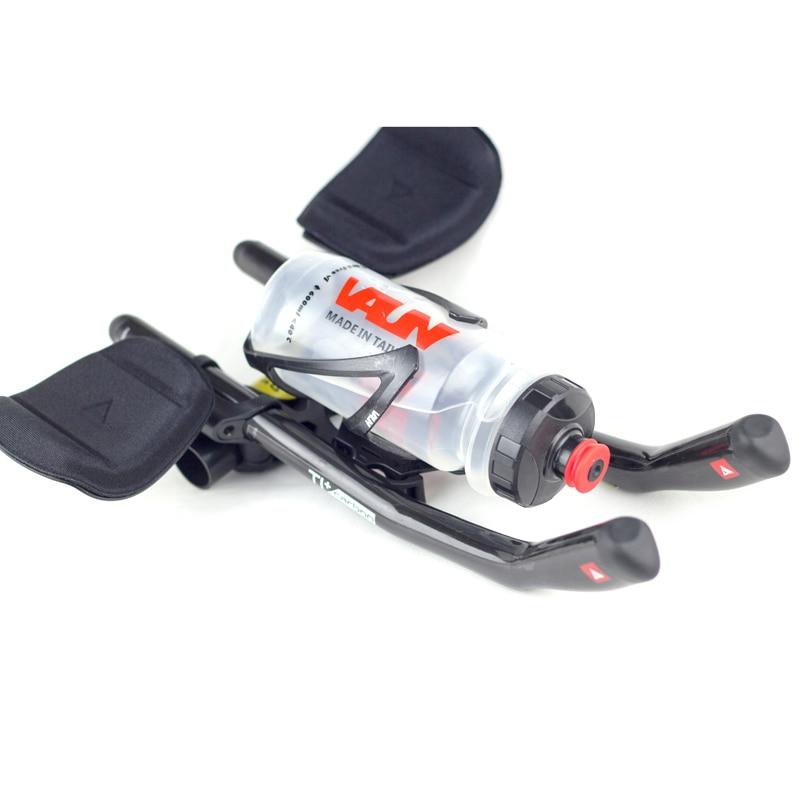 NEW VAUN VT1 Triathlon Basebar Bracket Water Bottle Cage Aero Drink System