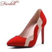 2018 del progettista sexy colore misto tacchi alti eleganti scarpe da sposa donna rosso tacco alto pompa i pattini dell'ufficio delle signore scarpe di marca di lusso scarpe