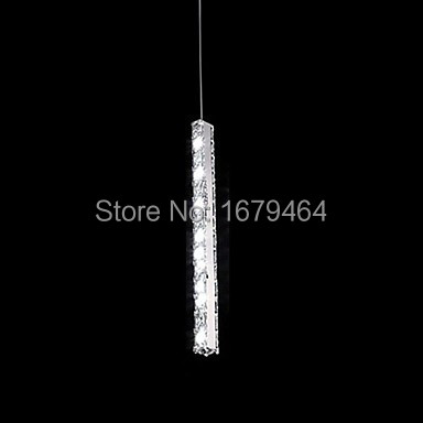 цены  k9 crystal Pendant Lights 1 Light Modern Simple Artistic Free shipping 11-240v