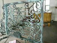 China Shanghai Wrought Iron Gates Driveway Gates Garden Iron Gates Metal Gates Home Improvement Forged Iron
